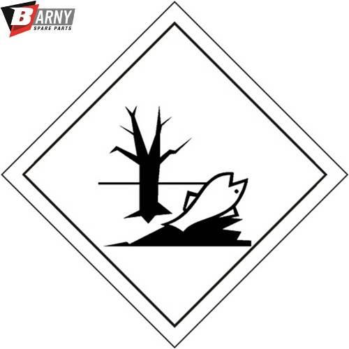 Pericoloso per l'ambiente etichetta adesiva a.d.r. classe 9